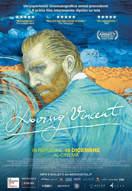 LOVING VINCENT - LA GRANDE ARTE AL CINEMA 2017/2018